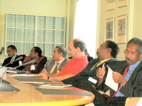 Osttimor indonesiskt nej till fredssamtal